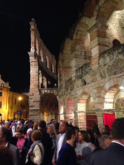 オペラ体験「アレーナ・ディ・ベローナ音楽祭」