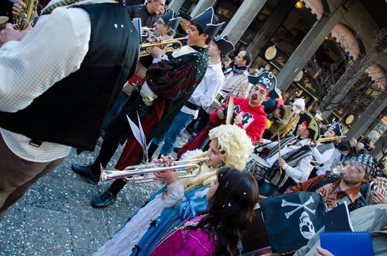 イタリアのカルネバーレ(謝肉祭)