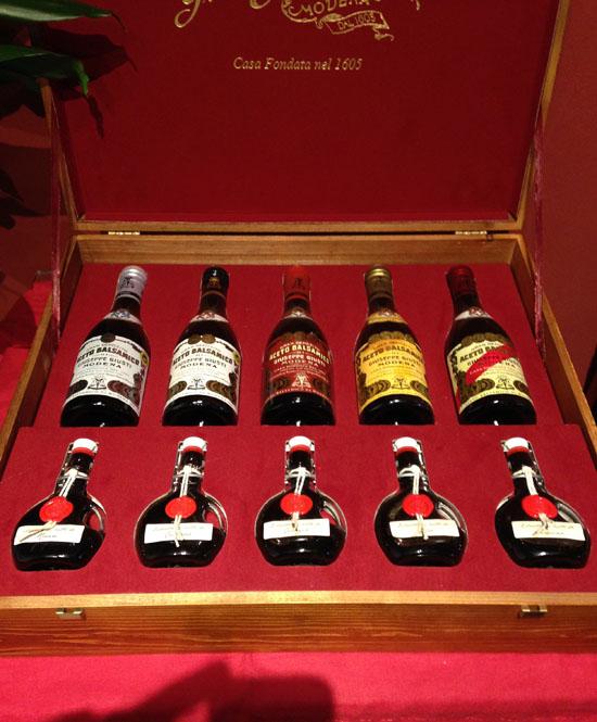 モデナ市の「バルサミコ酢の醸造所」レポート