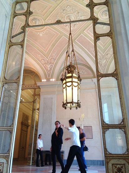 モンツァの宮殿のデザイン展覧会に行ってきました!