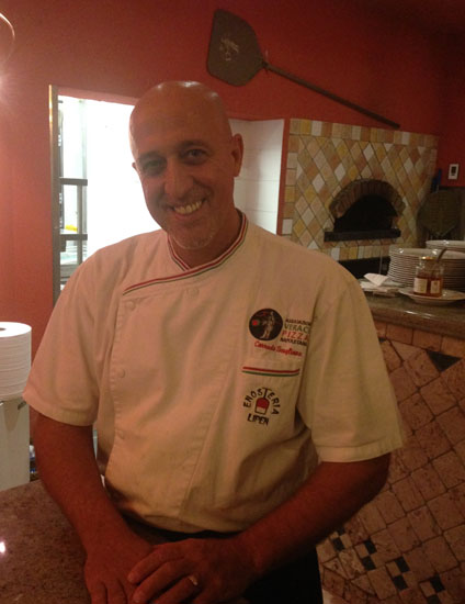 ミラノ郊外のレストラン